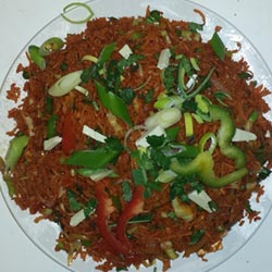 Vege Shezuan Fried Rice